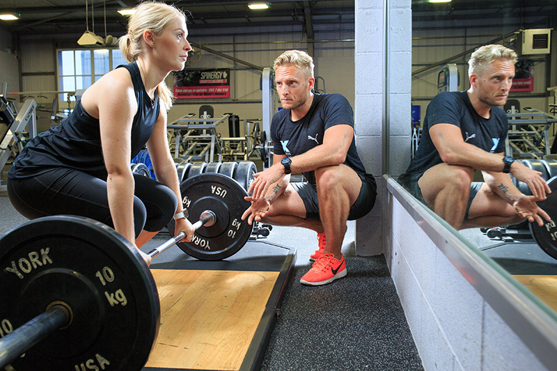 personal trainer exeter